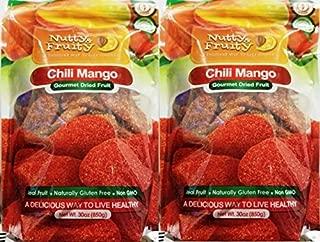 Nutty & fruity chili mango gourmet dried fruit 30 oz (2 Pack)