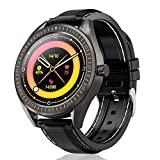 COULAX Smart Watch, 1.4' Touch Screen Smartwatch, Fitness Tracker, Activity Tracker with Heart Rate Monitor, IP68 Waterproof Sport Watch for Women and Men