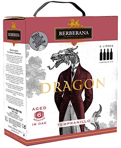 Berberana Dragon Premium Aged Tinto Bag in Box - 3000 ml.