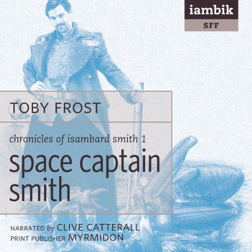 Space Captain Smith audiobook cover art