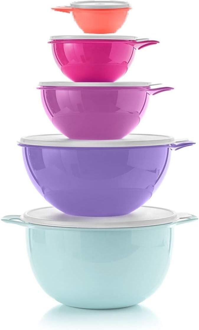 Tupperware 40% OFF Cheap Sale Thatsa Mixing Bowl Set of Color Philadelphia Mall Spring 5