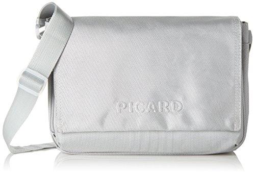 Picard Damen HITEC Umhängetaschen, Silber (Silber), 31x21x11 cm