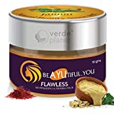 Jammi Ayurveda Flawless Revitalizing and Firming Face Pack with Multani Mitti, Kumkumadi, Camphor and other essential herbs, 50g