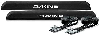 DaKine Long Aero Rack Pads with 12' Tie Down Straps - Black