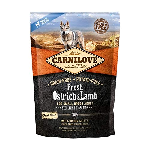 CARNILOVE FRESH 6KG OSTRICH & LAMB FOR SMALL BREED ADULT