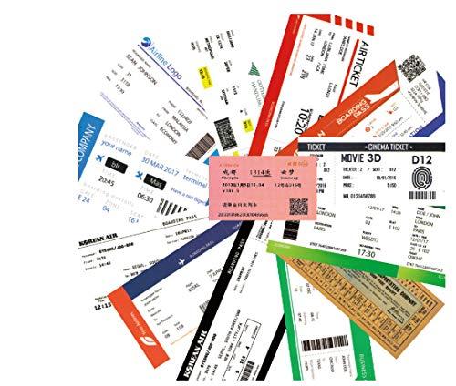 55 stuks/set retro reisembleem vliegtuigsticker creatieve sticker voor koffer, laptop, bagage, tassen, fiets, telefoon, PVC-etiket