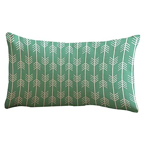 HWZZ Respirable Caso de almohada de algodón arrow Imprimir decoración for el hogar Funda de almohada Casa de cama cubierta de almohada Sobre Cubierta de la funda de la almohada de la decoración del ho