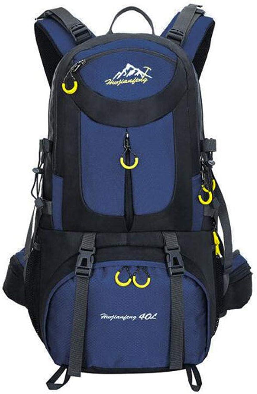 SXXDERTY Bergsteigen Rucksack 40 50   60L Wasserdichte Outdoor Sport Daypack für Klettern Camping Fitness Reisen Radfahren B07PM4NF95  Vielfalt