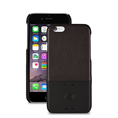 Piquadro AC3353P15/M Custodia iPhone, Linea Pulse, Marrone, 14 cm