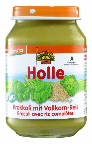 Holle Bio Jar Broccoli Hele Rijst 4m + 190g