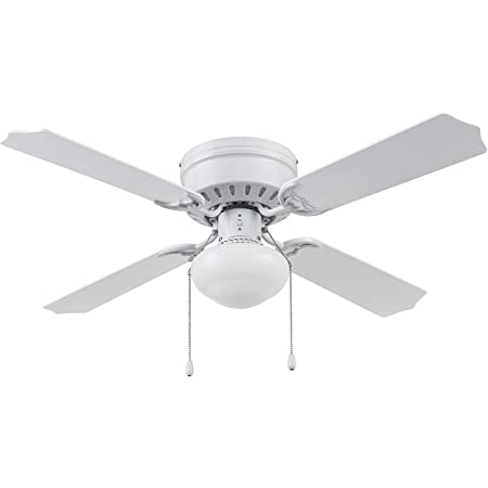 Portage Bay 51491 Cherry Hill Ceiling Fan, 42, White