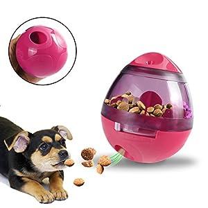 MG MULGORE Balle de Nourriture pour chien, chien interactif de gobelet Jouet Distributeur de nourriture Boule de traitement Augmente la stimulation de QI et de MENTAL, la meilleure alternative à l'alimentation de cuvette