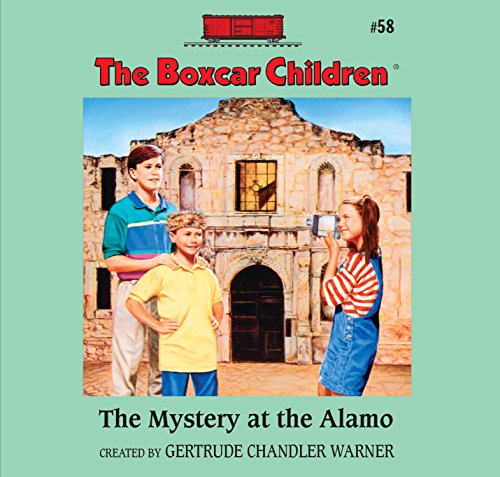 The Mystery at the Alamo audiobook cover art