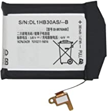 YNYNEW Replacement Internal Battery EB-BR760ABE GH43-04699A for Samsung Gear S3 Frontier Gear S3 Classic EB-BR760A 380mAh