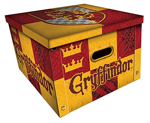 Harry Potter - Gryffindor - Aufbewahrungsbox mit Deckel - 36,7x36,7x23,8 cm