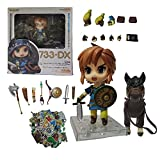 Zelda Toys The Legend of Zelda Nendoroid Link with Pony Breath of The Wild Face-Changing Figure Figure