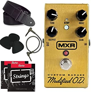 Jim Dunlop M77 MXR Custom Badass Modified + strings, picks, strap and patch cable