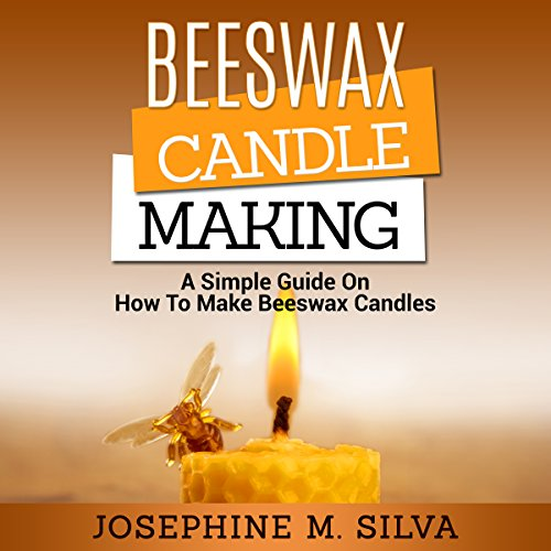 Beeswax Candle Making audiobook cover art