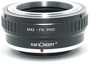 [正規代理店]K&F M42マウント-フジX FX マウントアダプター PRO レンズクロス付 m42-fx-pro (KFFXPRO)