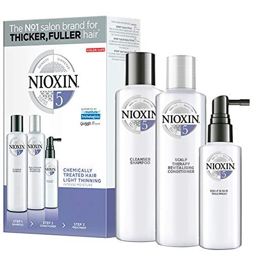 Trial kit Sistema 6 Shampoo 150ml, Condicionador 150ml e Leave-in 40ml, Nioxin, Pequeno