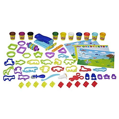 Brinquedo Massa de Modelar Play-Doh Kit Diversão Pré-Escolar, com 10 potes de massinha - E2544 - Hasbro
