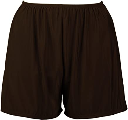 9a61656027 Topanga Women's Plus Size Swim Shorts with Built in Panty