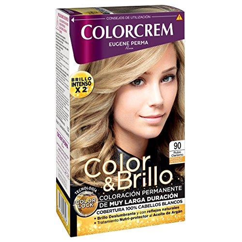COLORCREM tinte Rubio Clarisimo Nº 90 caja 1 ud