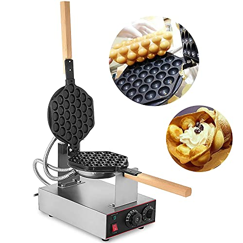 Macchina per waffle da 1300W, Hong Kong elettrico eggette Egg Waffle iron maker, Eggettes Bubble Waffle Maker Ferro Macchina Baker, 220 V Certificazione CE