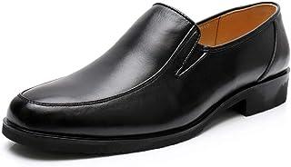 Chaussures décontractées Oxford Chaussures for hommes Mocassins Slip-on en cuir véritable Low Top anti-dérapant Round Flat...