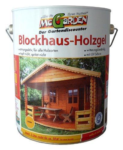 McGarden Blockhaus-Holzgel 5L(Eiche hell)