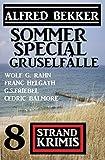 Sommer Special Gruselfälle: 8 Strand Krimis