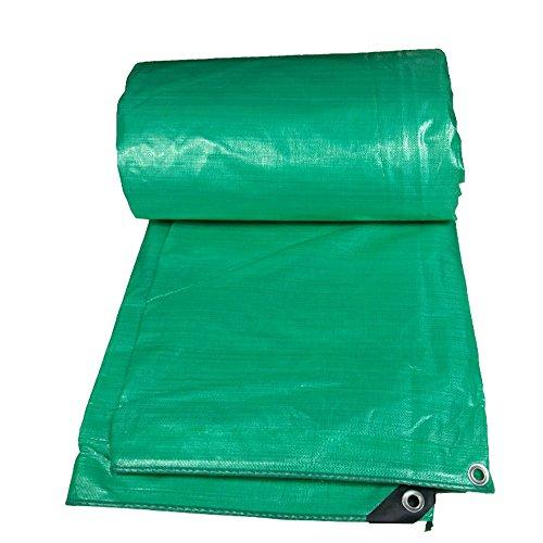 MEIDUO Bâches Tissu imperméable épais en Plastique de Camion de Pluie de Tissu de bâche de PE 180g / m2-0.32mm pour l'extérieur (Taille : 5mx10m)
