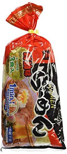 MIYAKOICHI Nudeln, gekocht, mit Sojasauce (Ramen), 2er Pack (2 x 600 g)