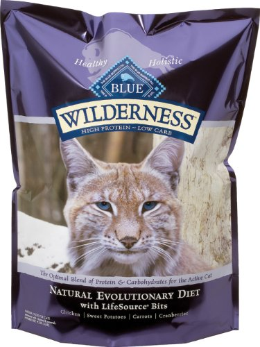 Blue Buffalo Wilderness High Protein Adult Chicken with Sweet Potatoes Dry Cat Food