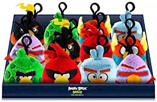 Angry Birds Space Purple Bird Backpack Cllip