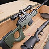 AWM Water Bullets Sniper Rifle PUBG M24 Sniping Water Gun Combined Version Children's Toy Safety Paintball Gun Xmas Gift (Include 10000 PCS Water Bomb)