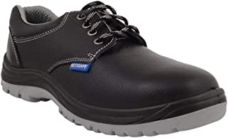 Neosafe A7024_7 Royce, Low Ankle Black Safety Shoes with Steel Toe, Size 7