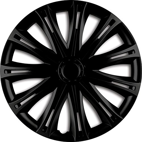ZentimeX Z732258 Radkappen Radzierblenden universal 17 Zoll black