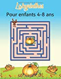 Labyrinthes pour enfants 4-8 ans: livre de puzzles et activités pour les enfants   Jeux, casse-tête et résolution de problèmes labyrinthe livre de ... livre pour 4 ans 5 ans 6 ans 7 ans 8 ans