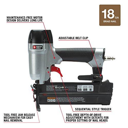 PORTER-CABLE BN200C 2-Inch 18GA Brad Nailer Kit