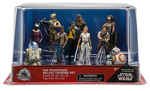 Disney Star Wars Exclusive Rise of Skywalker The Resistance Figurine PVC Figure Playset