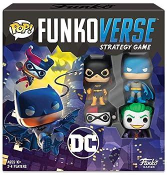 Funkoverse  DC Comics 100 4-Pack Board Game