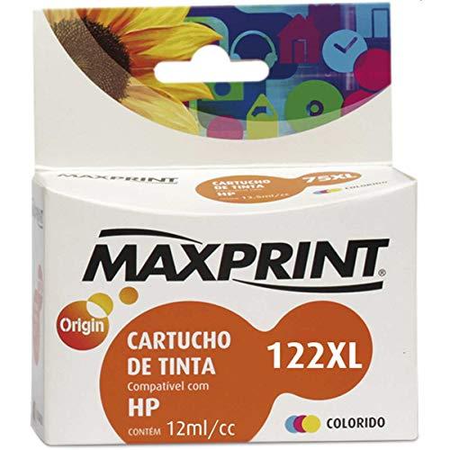 Cartucho de tinta Maxprint Compatível HP CH564AL No.122XL Colorido