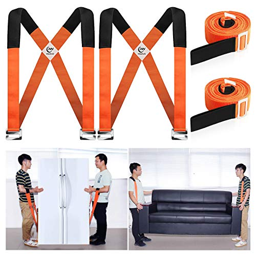HQQNUO Moving Straps, 2-Person Shoulder Lifting and Moving...
