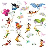RoomMates Pegatinas de Pared Disney Fairies