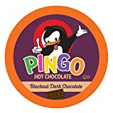 Pingo Single-Cup Hot Cocoa for Keurig K-Cup Brewers, Blackout, 40 Count