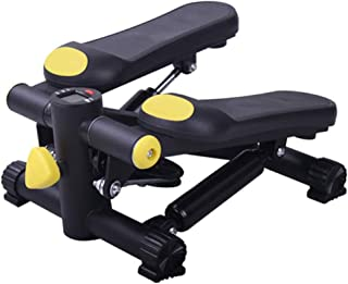 Air Climber Aerobic Fitness Step Stair Stepper Twist Exercise Machine Monitor Black And Yellow JoyBuySaudi