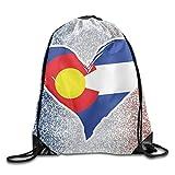 Mochila con cordón, Mochila Deportiva, Mochila de Viaje,Pink Glitter Unisex Home Rucksack Shoulder Bag Travel Drawstring Backpack Bag