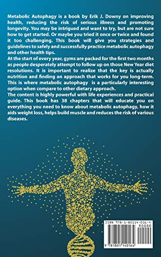 51VonWw3hCL. SL500  - Metabolic Autophagy (2 Books in 1): Live Healthy and Discover How Fasting Heals Your Body, Fills It with Energy, and Clears Your Mind. Activate the Anti-Aging Process Through the Ketosis State