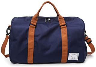 MOLLYGAN Oversized Duffel Bag Large Capacity Gym Bag Travel Duffle Sports Bag with Shoes Compartment Tote Bag for Men and ...
